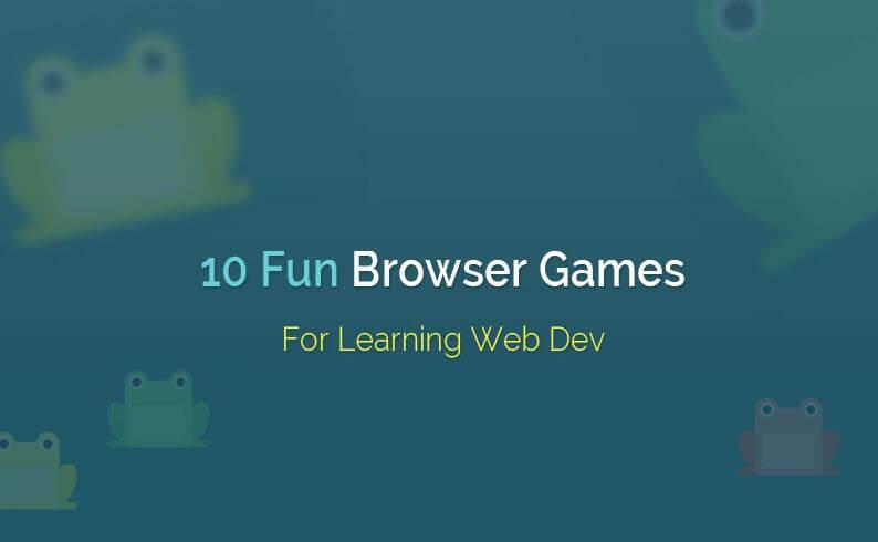 10 بازی جالب برای یادگیری توسعه و طراحی وب