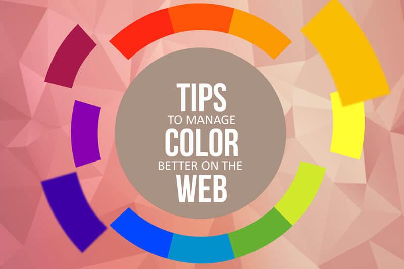 7 تکنیک برای مدیریت بهتر رنگها در طراحی سایت