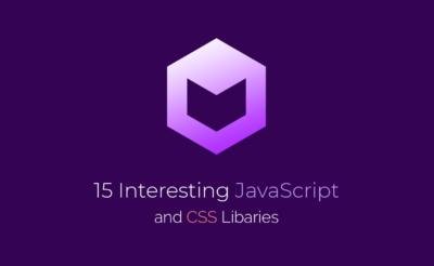 15 کتابخانه CSS و Javascript جالب در آپریل 2018