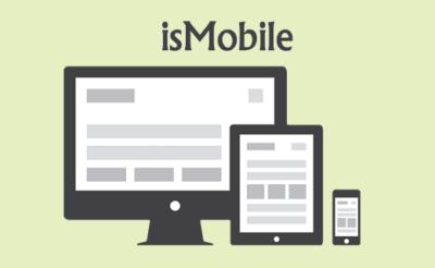 تشخیص دستگاه های موبایل با استفاده از Javascript
