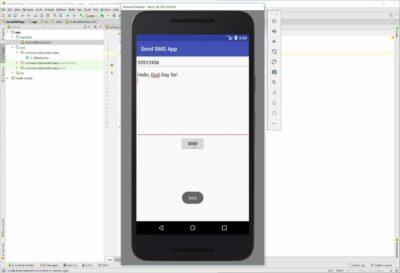 آموزش ارسال sms در برنامه نویسی اندروید