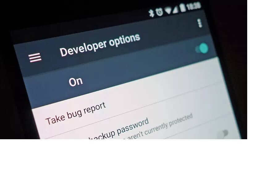 Developer options در اندروید