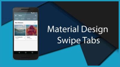 طراحی رابط کاربری با متریال دیزاین در اندروید