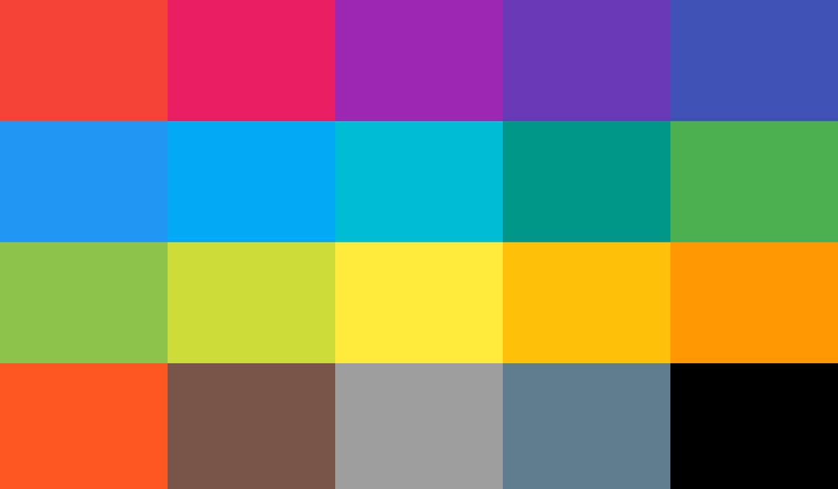راهنمای کاربردی استفاده از رنگ ها در طراحی رابط کاربری UI
