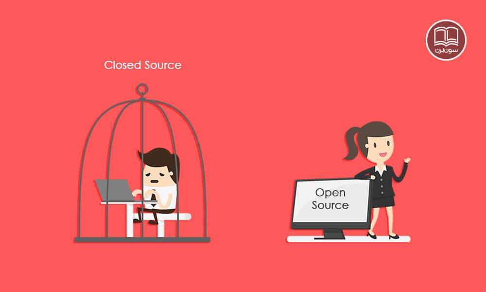 نرم افزار متن باز Open Source چیست؟