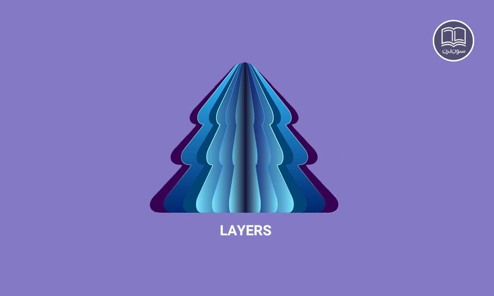 کاربرد لایه در Layer style در فتوشاپ