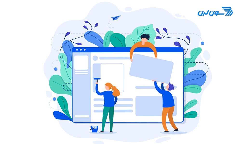 web designing -designer اصول و مبانی طراحی UI و UX