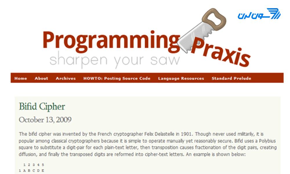puzzle programming website 01 حل مسائل برنامه نویسی