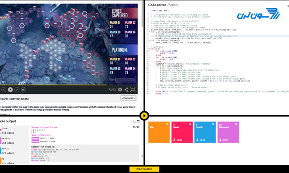 puzzle programming website 07 حل مسائل برنامه نویسی
