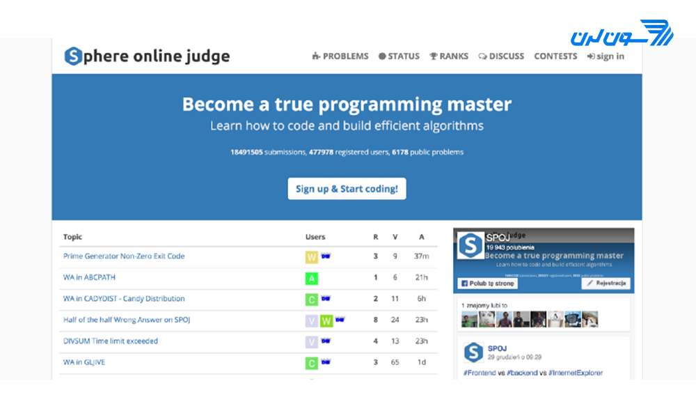 puzzle programming website 12 حل مسائل برنامه نویسی
