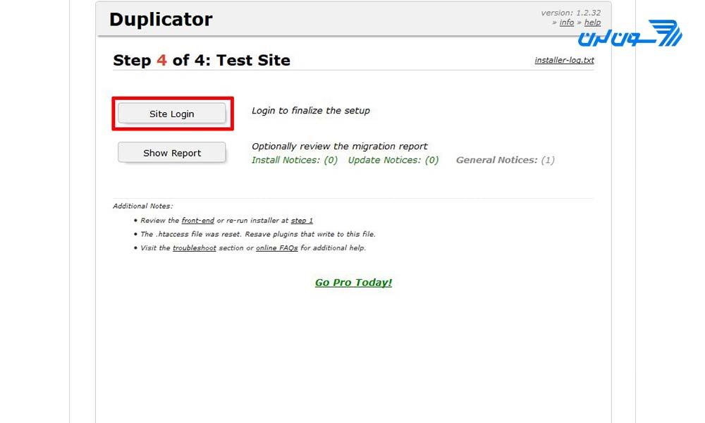 انتقال سایت از لوکال به هاست در وردپرس
