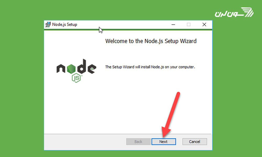 نصب node.js در ویندوز