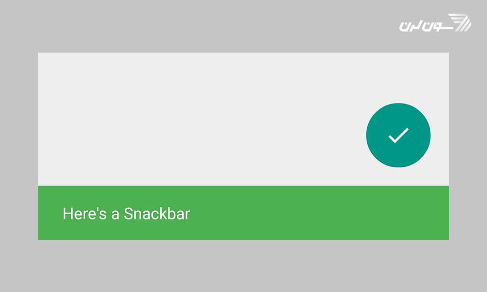 طریقه استفاده از Snack Bar در اندروید
