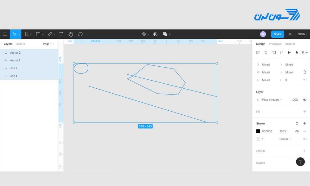 آموزش نرم افزار Figma - طراحی رابط کاربری در فیگما